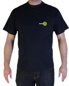 T-Shirt wir setzen ein Zeichen Feuerwehr und THW vorne