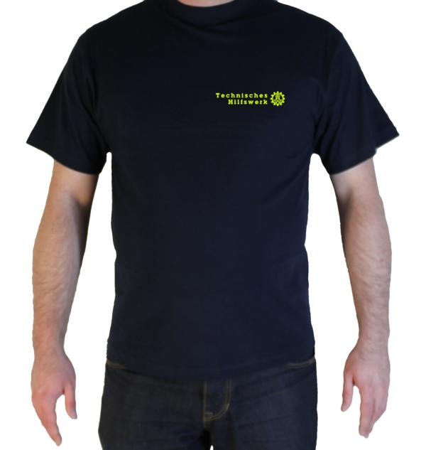 T-Shirt THW Brust