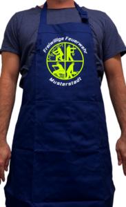 Grillschürze Feuerwehr - Signet Freiwillige Feuerwehr mit Ortswehr
