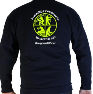 Pullover Feuerwehr Signet Groß