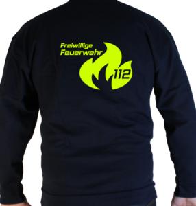 Pullover Flamme Groß mit FFW