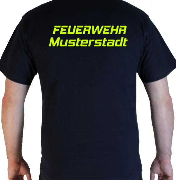T-Shirt Feuerwehr Simple